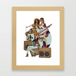 ALMOST FAMOUS Framed Art Print