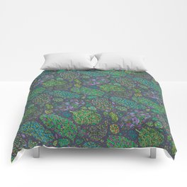 Nugs in Green Comforters