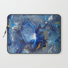 Blue and White dip Laptop Sleeve