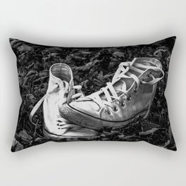 Abandoned Converse Rectangular Pillow