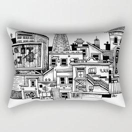 New Town New Rectangular Pillow