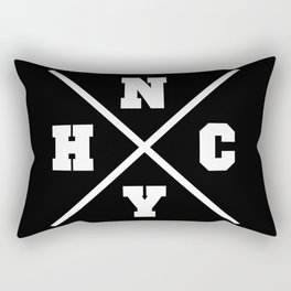 New York hardcore Rectangular Pillow