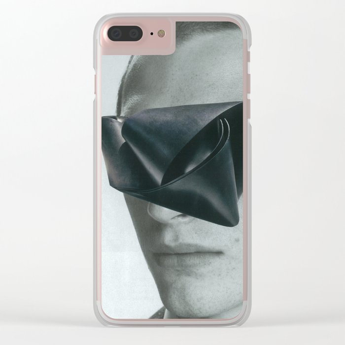 Slave to the wage Clear iPhone Case