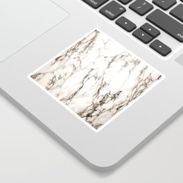 Brown Veined Marble Sticker