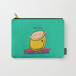 Relax   #happyman Carry-All Pouch