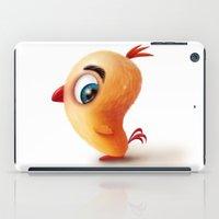 chicken iPad Cases featuring Chicken by Alexander Skachkov
