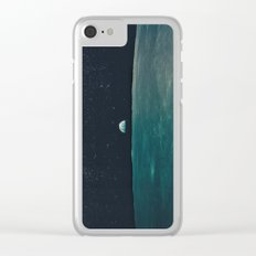 Project Apollo - 8 Clear iPhone Case