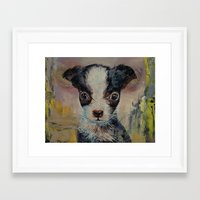 shakespeare Framed Art Prints featuring Shakespeare by Michael Creese