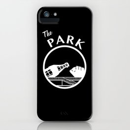 The Park (White) iPhone Case