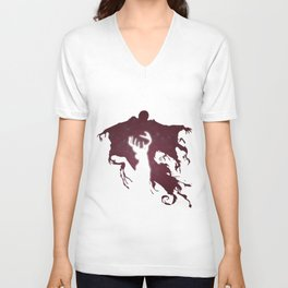 DEMENTOR AND DEER Unisex V-Neck