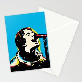 Liam Gallagher Quote Portrait Stationery Cards