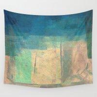buddhism Wall Tapestries featuring गौतम की जागृति (Gautama's Awakening) by Fernando Vieira