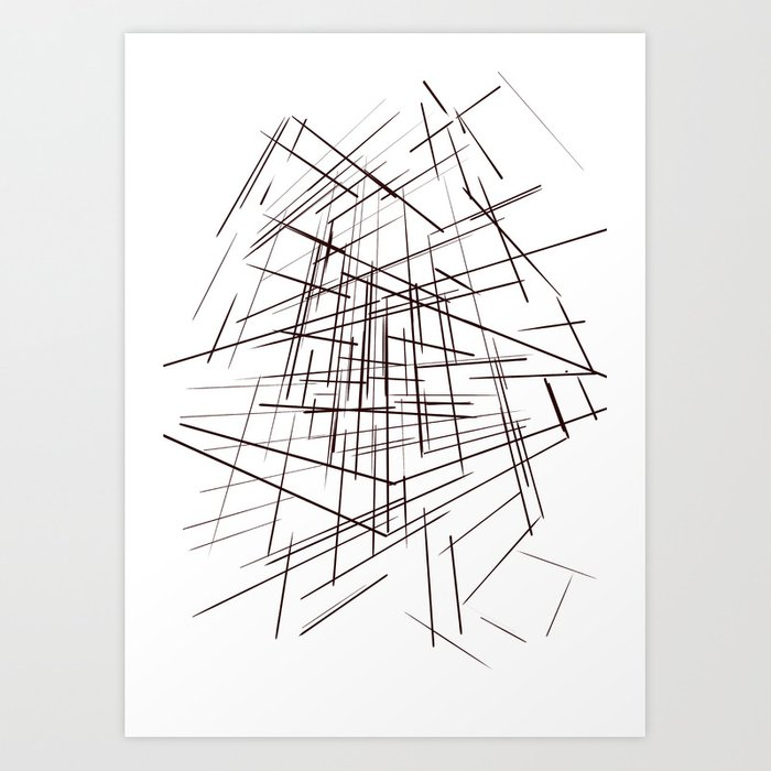 warp Art Print