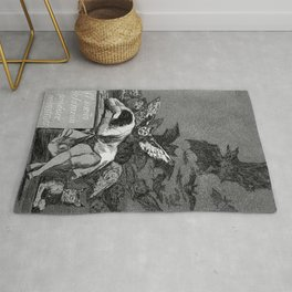 THE SLEEP OF REASON PRODUCERS MONSTERS - FRANCISCO GOYA Rug