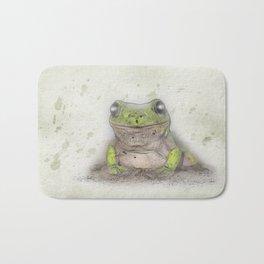 Jeremiah was a bullfrog Bath Mat