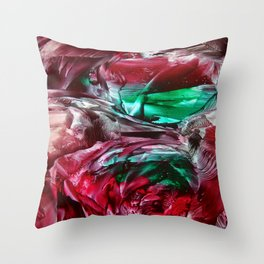 CosmicFog Throw Pillow