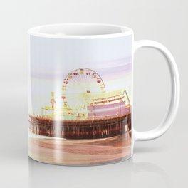 Santa Monica Pier Sunrise Coffee Mug