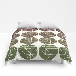 Circles Gradient  Comforters