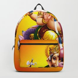 Hindu Ganesha 2 Backpack