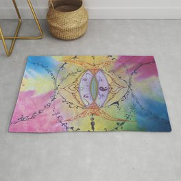 The Power of Love Rug