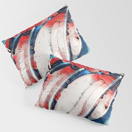 Rolling Art Jeans Pillow Sham