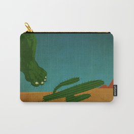 superheroes in the wild west Carry-All Pouch