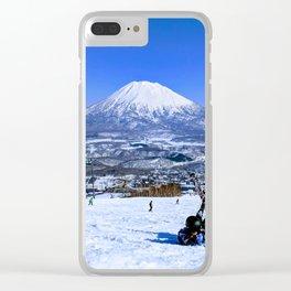 Mt Yotei Clear iPhone Case