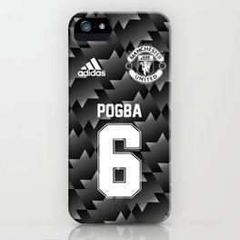 Pogba Edition - Manchester United Away 2017/18 iPhone Case
