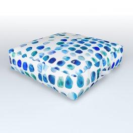 Sea Glass Outdoor Floor Cushion