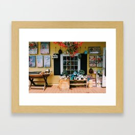Old Time North Conway Framed Art Print