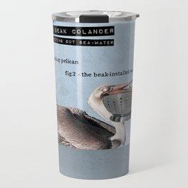 Pelican Beak Colander Travel Mug