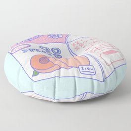 Peach Milk Floor Pillow