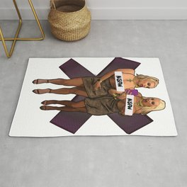 Cock Destroyers NSFW Rug