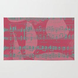 Schumann Sheet Musical - Carnaval Rug