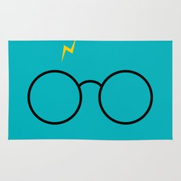 Potter Glasses - Harry Magic Design Rug