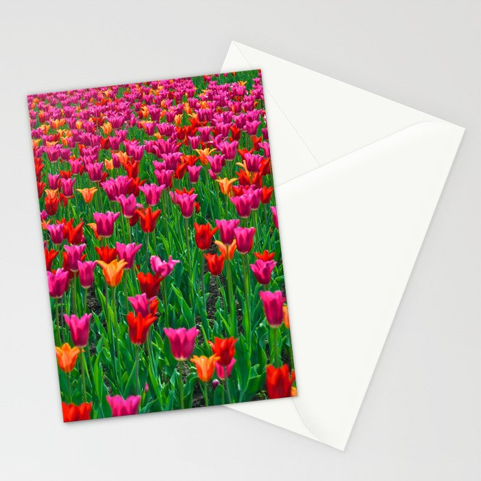 Ocean of Tulips - The Peace Collection Stationery Cards