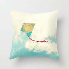 Our Heart is Like a Kite Throw Pillow