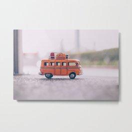 the big bus Metal Print