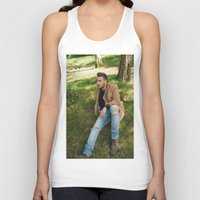 liam payne Tank Tops featuring Liam Payne by behindthenoise