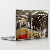 milan Laptop & iPad Skins featuring milan glitch by Martin Summers