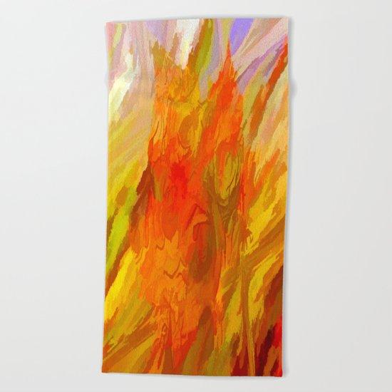 Vibrant Summer Beach Towel