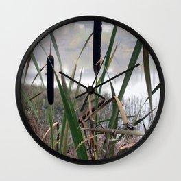 Reeds Seeds Wall Clock