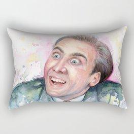 Nicolas Cage You Don't Say Geek Meme Nic Cage Rectangular Pillow