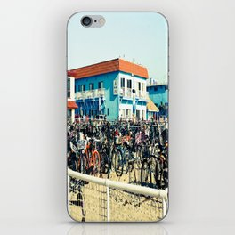 Bicycle Parking Lot iPhone Skin