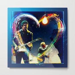 Edge & Bono Metal Print