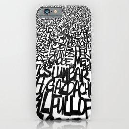 Upwords iPhone Case