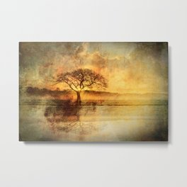 Sunset On The Savannah Metal Print