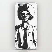 afro iPhone & iPod Skins featuring AFRO by LeoVarg
