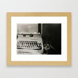 Novelist Framed Art Print