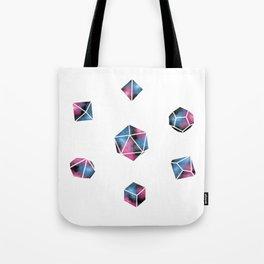 Dice & Dwarf Galaxies Tote Bag